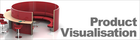 Product visualisation gallery banner